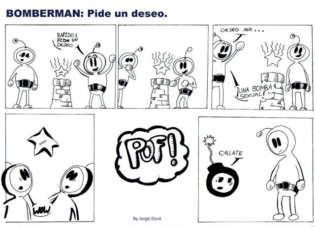Bomberman: pide un deseo
