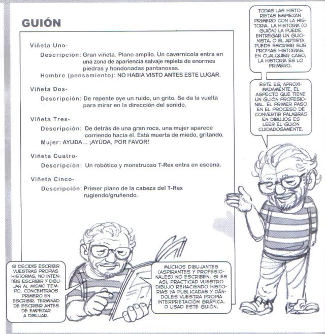 Ejemplo guion de comic