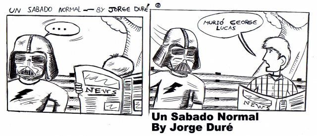 Un sábado normal - cómic.