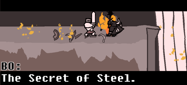 BO: the secret of steel